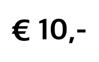 Doneer € 10,-