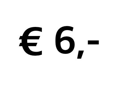 Doneer € 6,-