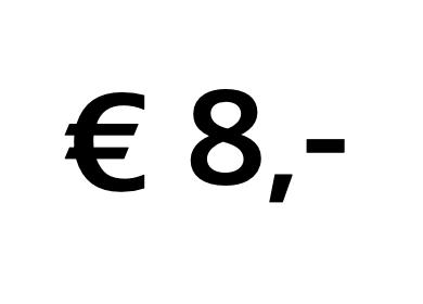 Doneer € 8,-