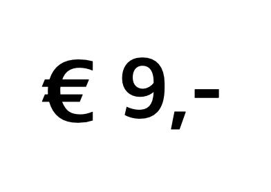 Doneer € 9,-